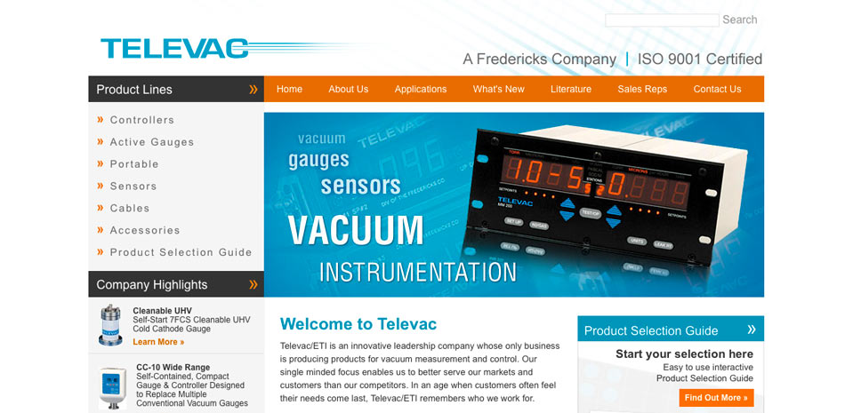 Televac Vacuum Measurement